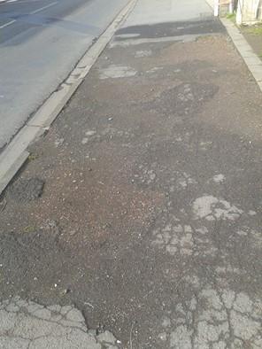 L'état des trottoirs